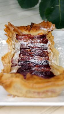 Une tarte aux fruits de saison tout en légéretée