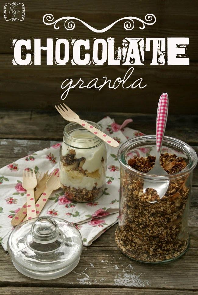 Chocolate granola / Čokoladna granola