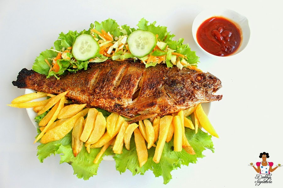 How to grill fish at Home - Grilled fish recipe
