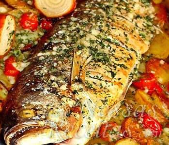 anchova assada
