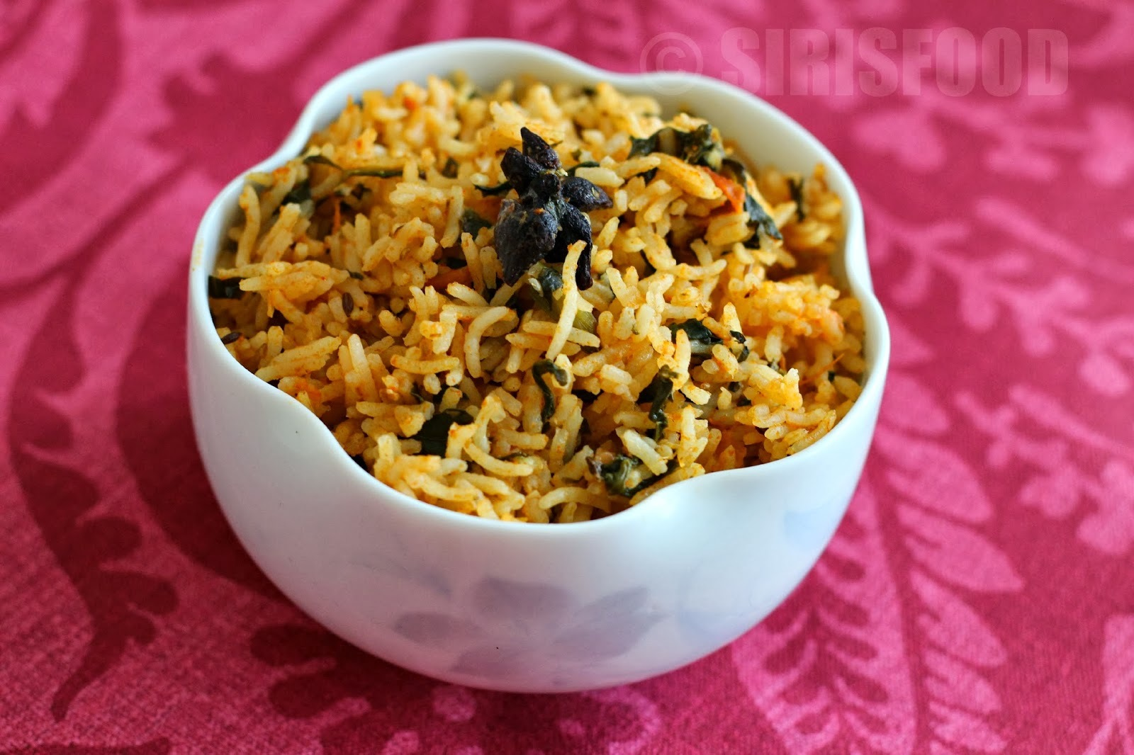 Spinach Pilaf | Palak Pulav Recipe | Who else want to be Healthy?