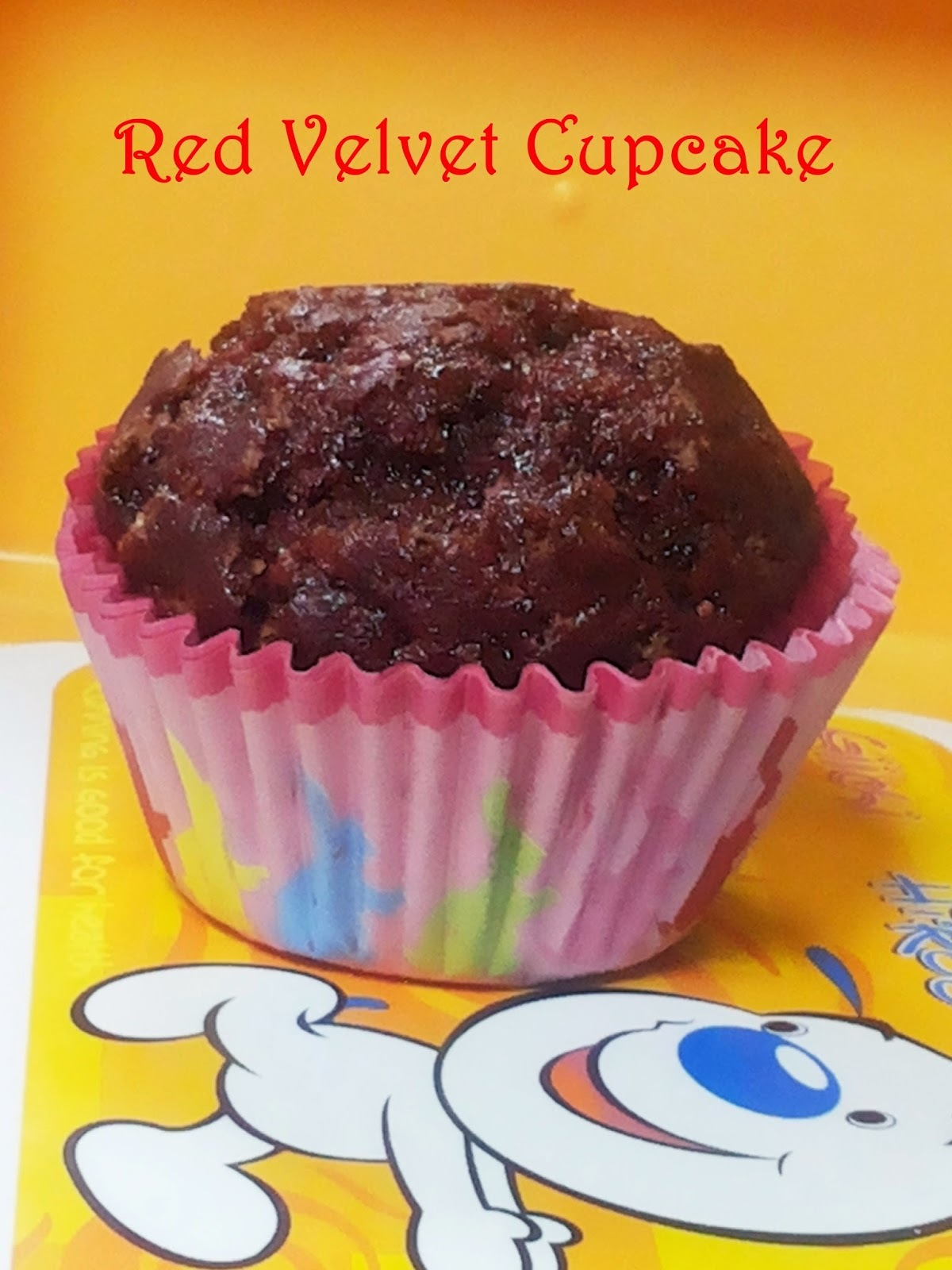 Eggless Red Velvet Cupcakes ~ Natural Coloring!!!