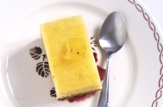 un gâteau très citron