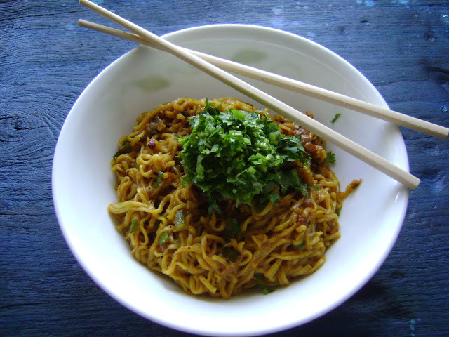 Ramen Noodles - the 'Indian' way