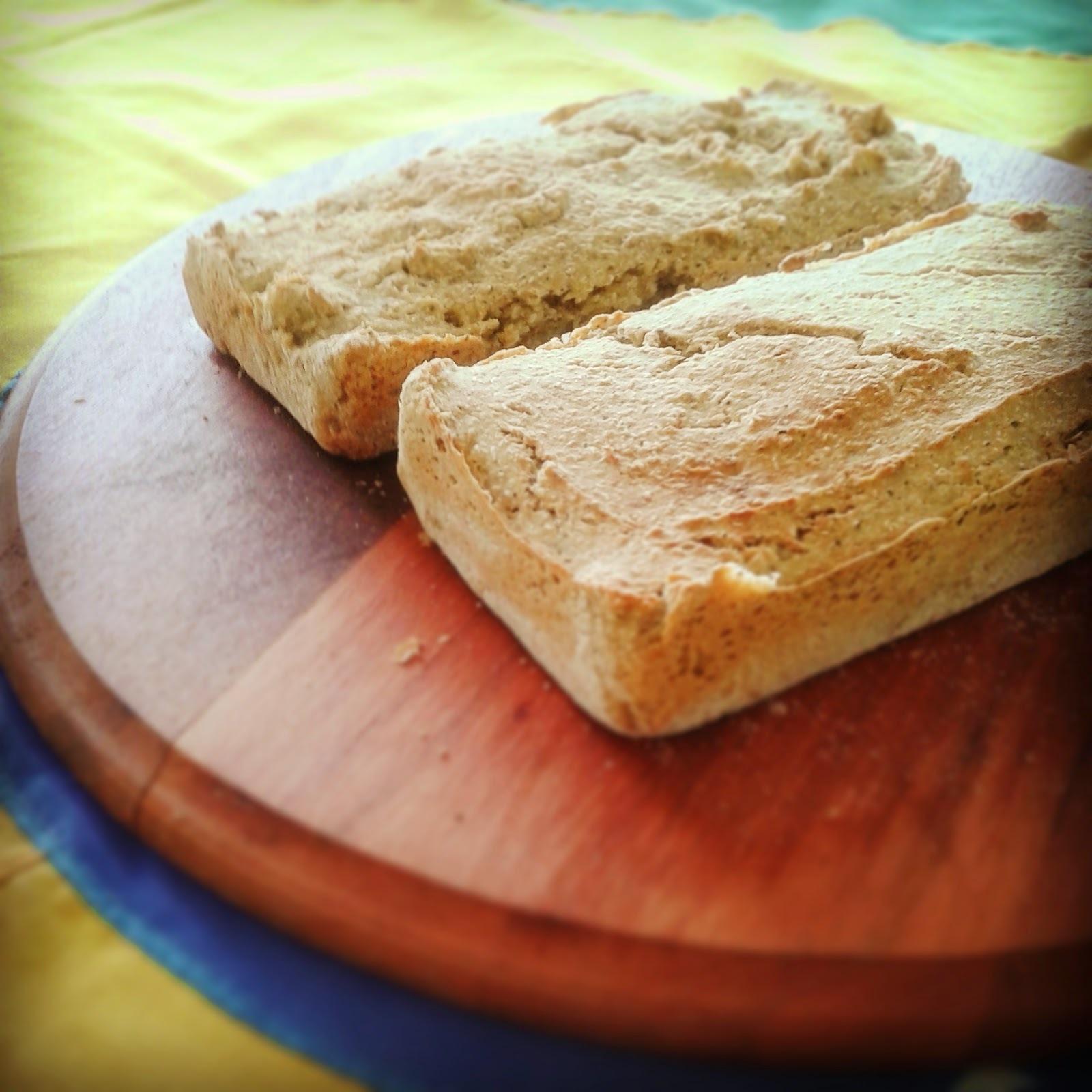 Pão Rústico Sem Glúten e Sem Lactose