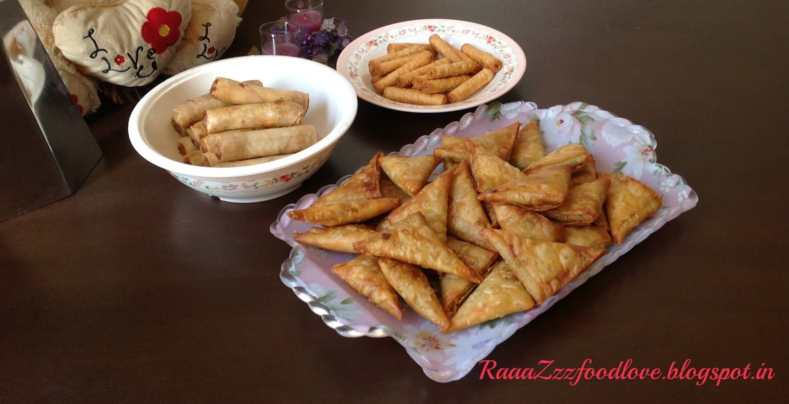 Eid Snacks Party at my home