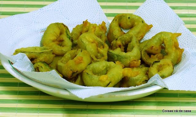Legumes empanados