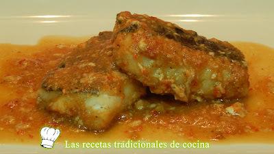 Receta de bacalao en salsa picante al horno