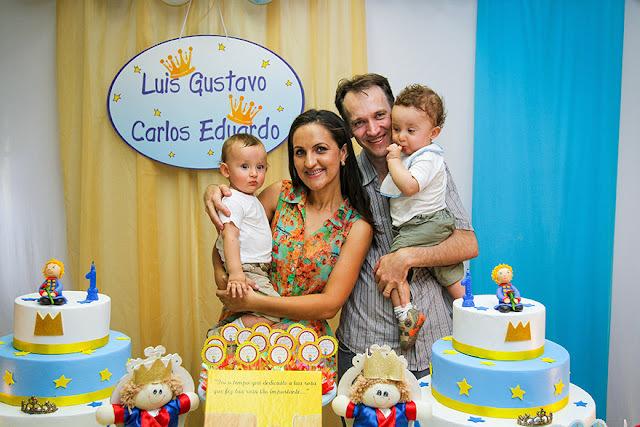 Festa Pequeno Príncipe - Luís Gustavo e Carlos Eduardo