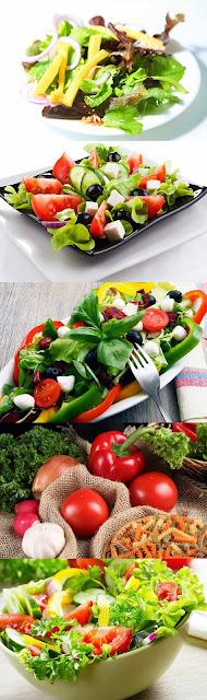 salada de macarrao parafuso com rucula