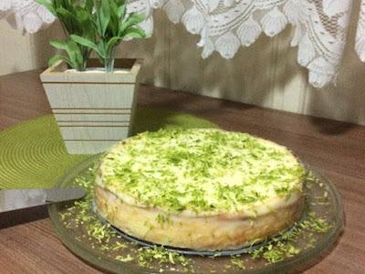 Torta de Ricota com Limão