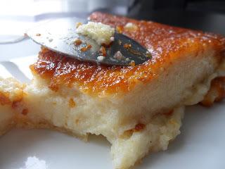 Gâteau de semoule au caramel, type Yabon ! (6 à 8 pers)