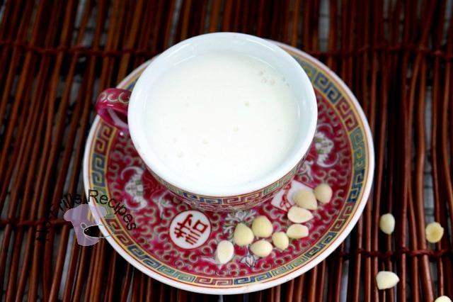 Chinese Almond Tea  ~   杏仁茶