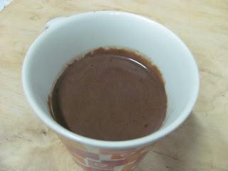 Chocolate Quente com Rum