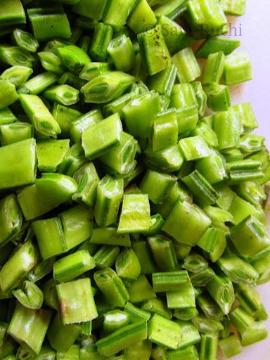 Gorikai Palya Recipe | Jawalikai Palya | Gawar sabzi : North Karnataka Style