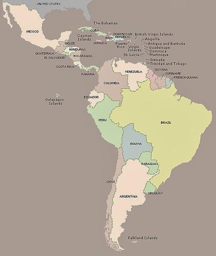 Tabla de índice glucémico - América latina