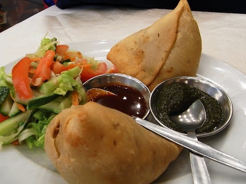 Recette de samoussa (samosa) au poulet, épices indiennes - Ramadan (Inde, Pakistan)