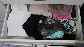 Organizando o guarda roupa - Agora é a vez das gavetas