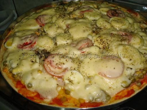 pizza de liquidificador facil tudo gostoso