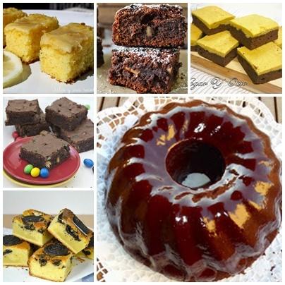 5 Brownies y un bund cake para disfrutar