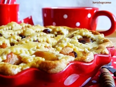 Rácsos almás pite (diabetikus)
