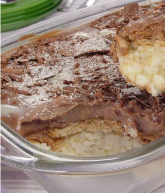 Travessa de Leite Ninho® e Chocolate