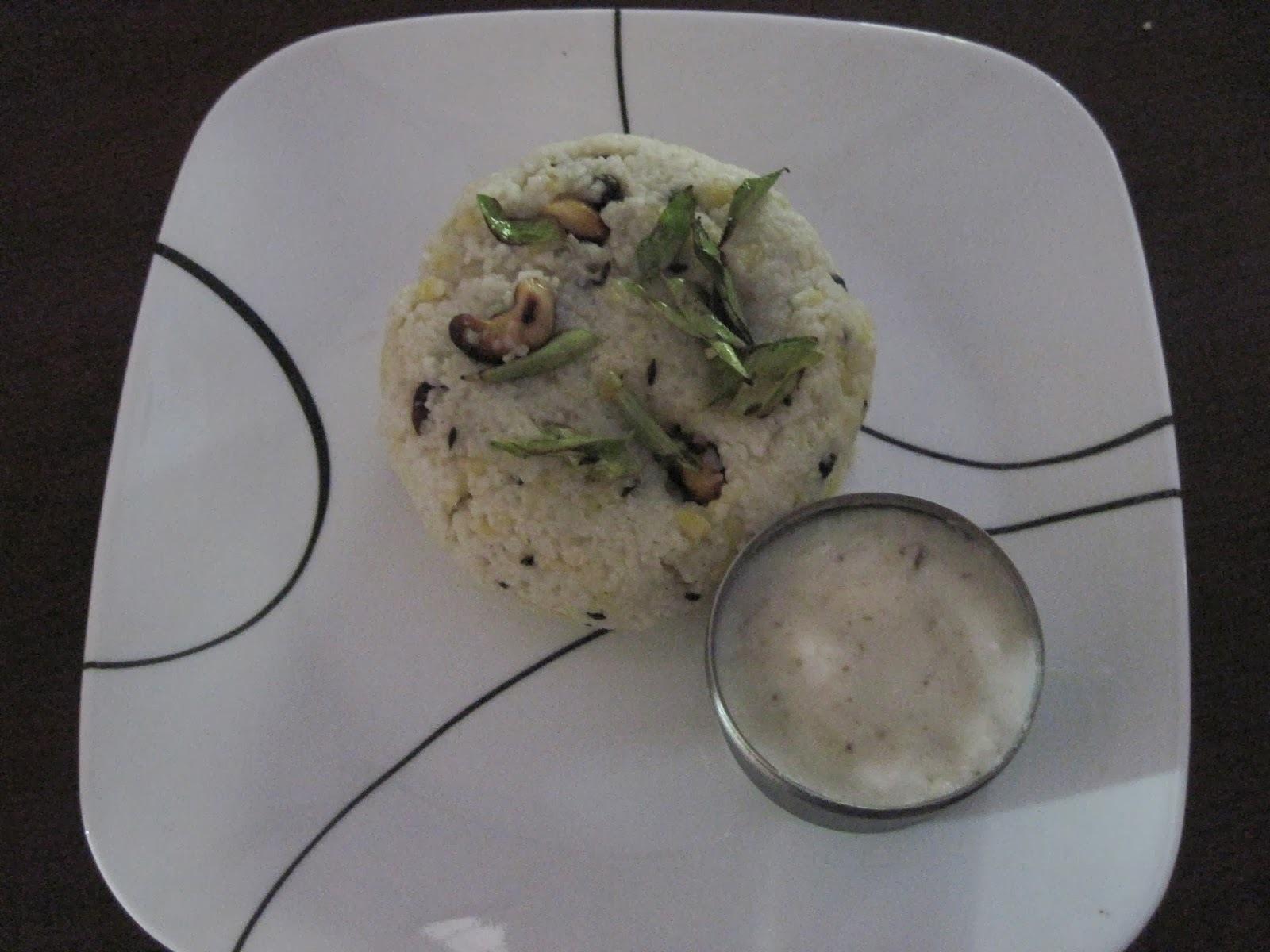 Kuthiraivali (Banyard Millet) Pongal
