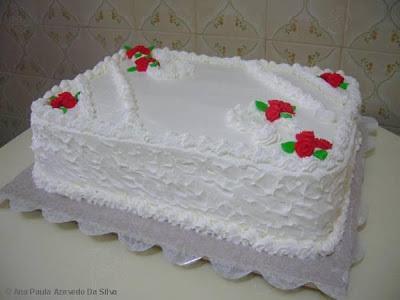 como fazer glacê de bolo com gordura vegetal
