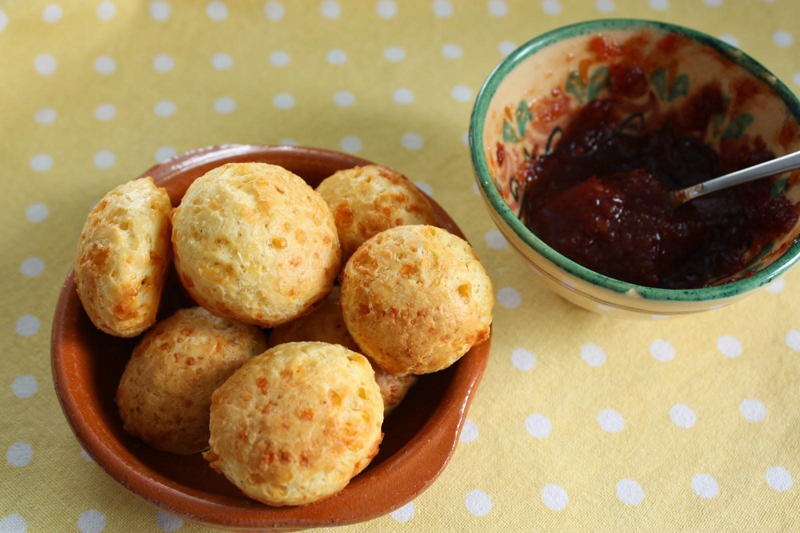 Brazilian Cheese Balls, not footballs.........