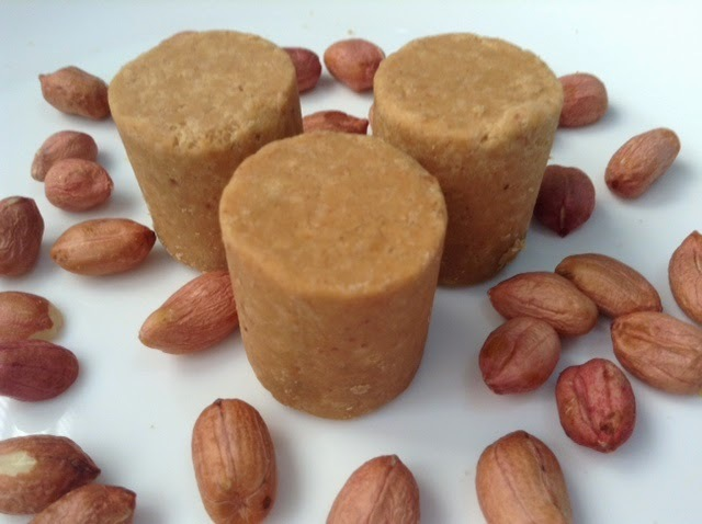 paçoca de amendoim doce para cortar