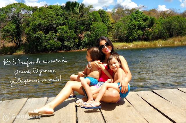 16 Desafios de ser mãe de gêmeos, trigêmeos, quadrigêmeos ou mais!