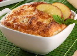 postre yucateco-Soufflee de manzanas yucateco