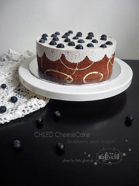 ~漫畫式的蛋糕 の【藍莓乳酪優格蛋糕】
