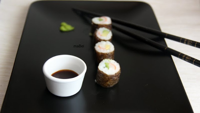 Sushi hecho con molde (sin esterilla)