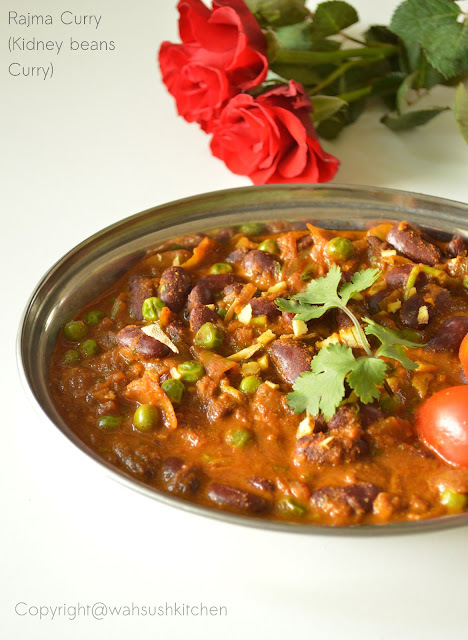 Rajmah curry(Kidney beans curry)