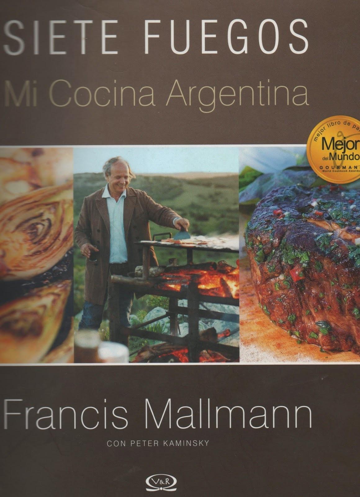 En la pista de Carlos Gardel: Francis Mallmann se cuece en sus propios jugos