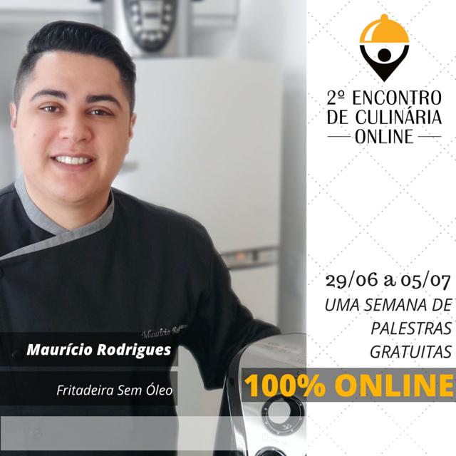 2º Encontro de Culinária Online com o blog Fritadeira Sem Óleo