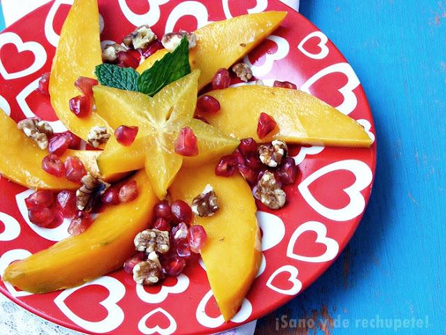 Ensalada de frutas de otoño