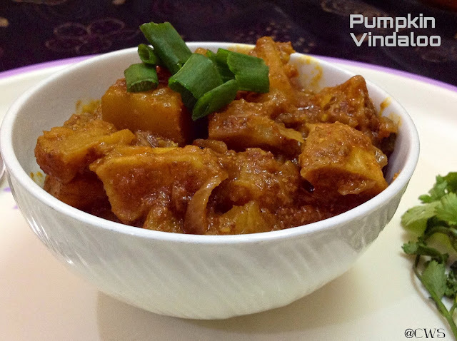Pumpkin Vindaloo