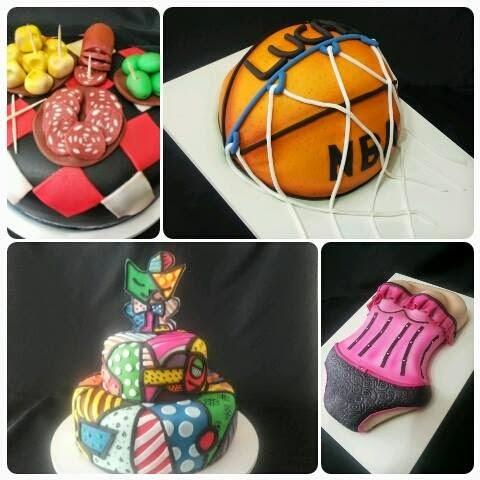 A arte de fazer bolos ou o bolo de fazer artes?