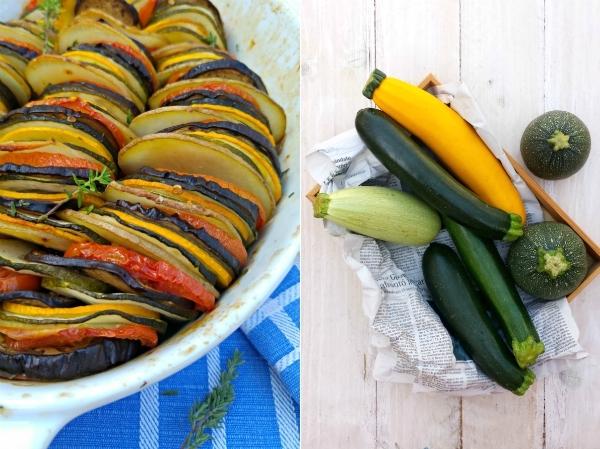 tian de verduras de verano