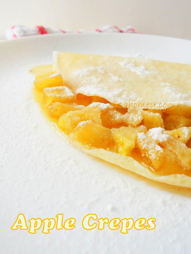 Apple Pancakes/Crepes Recipe