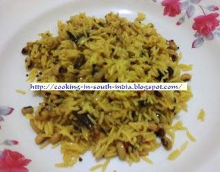 Black Eyed Peas Rice  / Karamani Rice