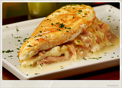 Omelete de Claras para o seu almoço