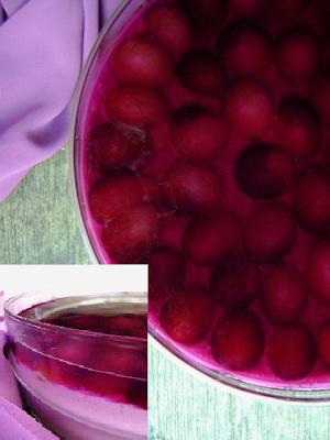 Delícia de Gelatina de Uva