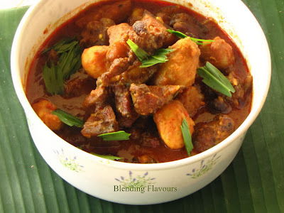Smoked Pork Curry With Colocasia