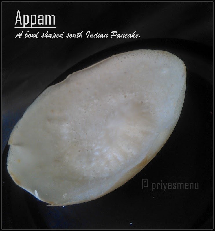 Appam ( No Yeast Recipe )