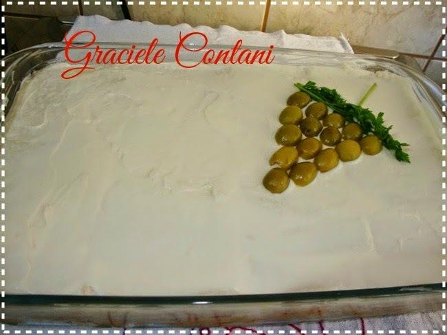 Torta fria de frango com creme de leite, de Graciele Contani