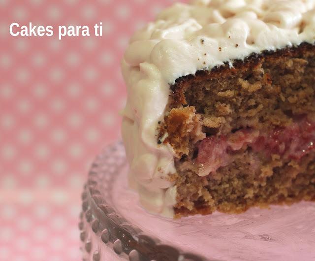 TARTA DE FRESAS DE CAKES PARA TI