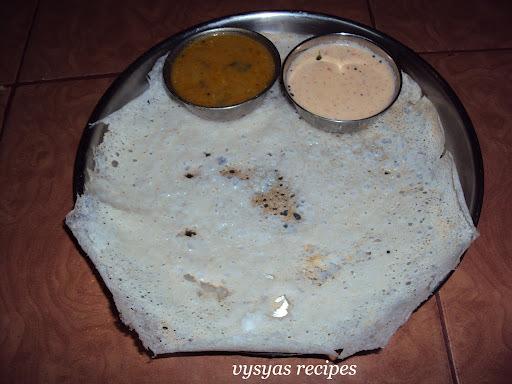 Coconut Dosa (Thenga Dosa)